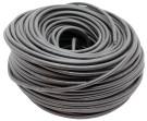 Kabel 2x1,5mm2 dobbeltisoleret, sort - Farvekode ISO4141, DIN72570