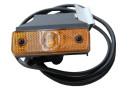 Sidemark. 24V LED Flatpoint l m/konsol - Med 1,5m kabel P&R og plast konsol - 31-2264-037