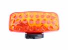 Blitzblink magnet LED 24 Batteridrevet, - orange