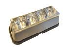 Blitzblink 4 LED 10-30V orange