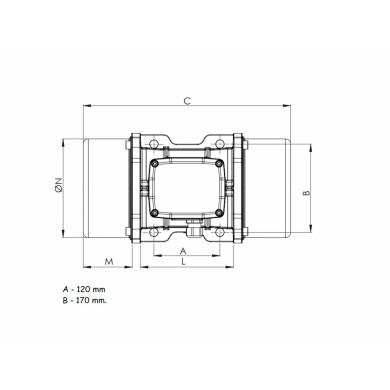 Vibrator OLIVBRA MVE1500 - EDC241500