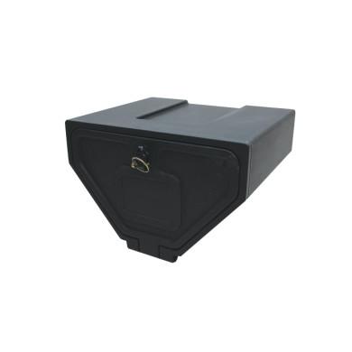 Værktøjskasse plast 400x275x330 - Trekantet - 500392